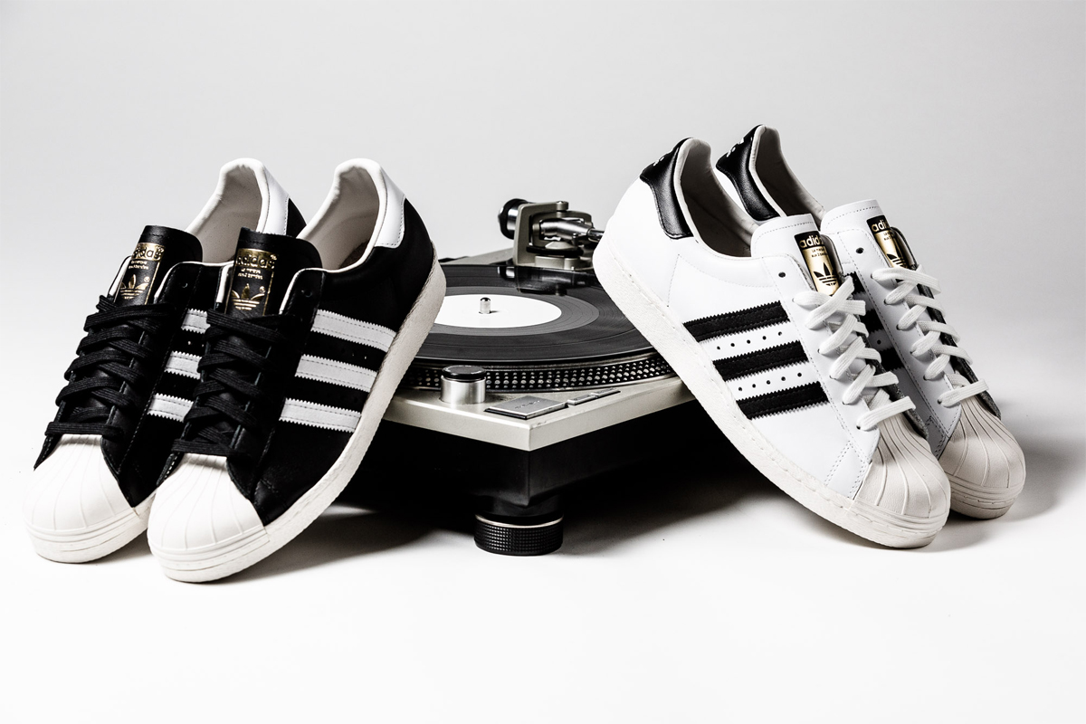 adidas superstar 80s og cordons negres. Black Bedroom Furniture Sets. Home Design Ideas