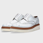 Zapatos Grenson Archie de color blanco