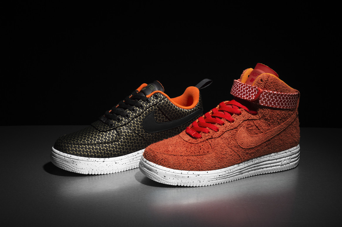 huge selection of 9b782 88ebe Nike x Undefeated Lunar Force 1 Pack 2014