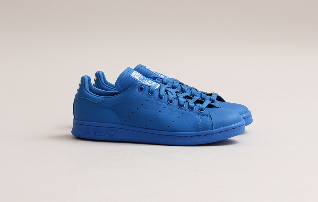 zapatillas adidas stan smith azul