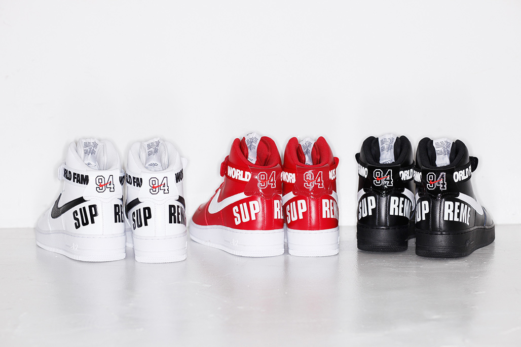 best service 2b075 2f039 ... best price nueva colección supreme x nike air force 1 high 2014 42e96  5dfd3